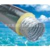 大量供应订做黄棉铝箔加强网软管排风管GD-E001